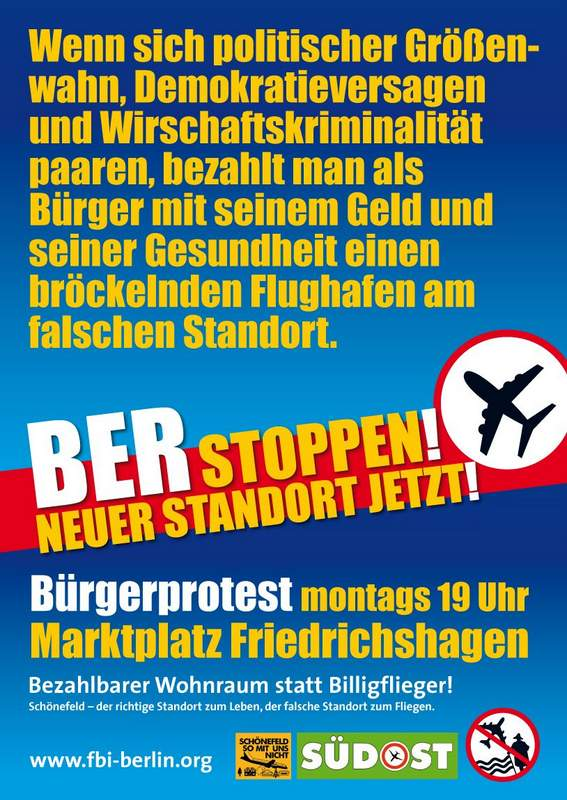 2016-Plakat-FBI-16-1-Montagsdemo-Buerger-bezahlt